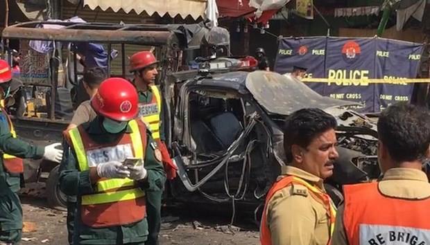 Pakistan: une explosion à Lahore fait au moins 5 morts et 24 blessés - ảnh 1