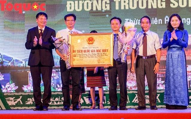 La piste Truong Son - Hô Chi Minh reçoit le statut de vestige national spécial - ảnh 1
