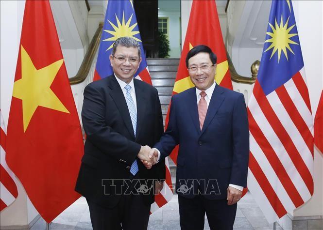 Vietnam-Malaisie : Entretien entre les chefs de la diplomatie - ảnh 1