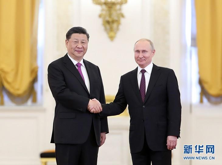Chine - Russie : un partenariat de coordination stratégique global pour une nouvelle ère - ảnh 1