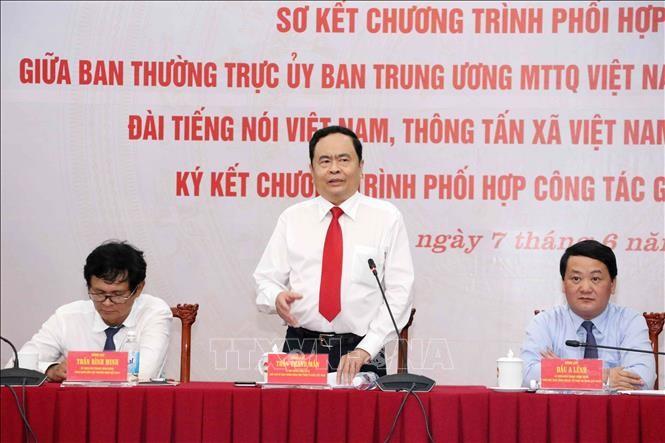 Renforcer la communication sur le 9e congrès national du Front de la Patrie du Vietnam - ảnh 1