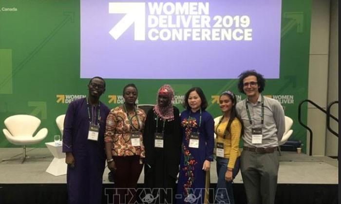 Le Vietnam participe à la conférence Women Deliver 2019 - ảnh 1