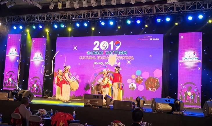 Clôture du Festival d'échange culturel Vietnam-République de Corée - ảnh 1