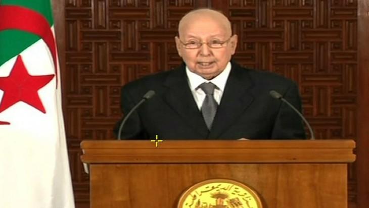Le président algérien par intérim appelle au dialogue national en excluant l'armée - ảnh 1