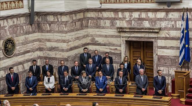 Le nouveau Parlement grec prête serment - ảnh 1