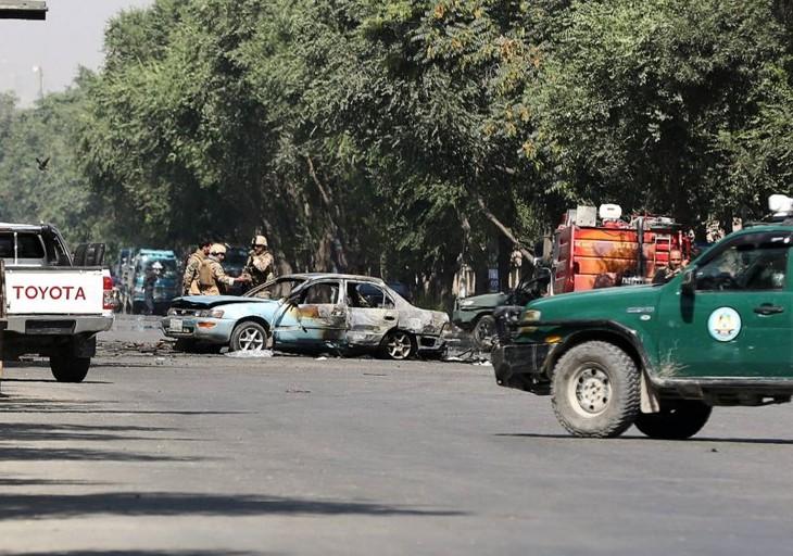 Afghanistan: au moins huit morts dans une explosion près d'une université - ảnh 1