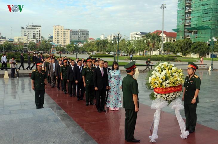 Événement à la mémoire des soldats volontaires du Vietnam tombés au Cambodge - ảnh 1