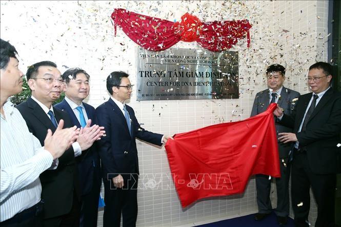 Inauguration d'un centre d'identification de l'ADN pour les morts pour la Patrie - ảnh 1