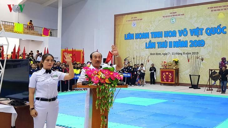 Ouverture du festival «Quintessence des arts martiaux vietnamiens dans le monde» 2019 - ảnh 1