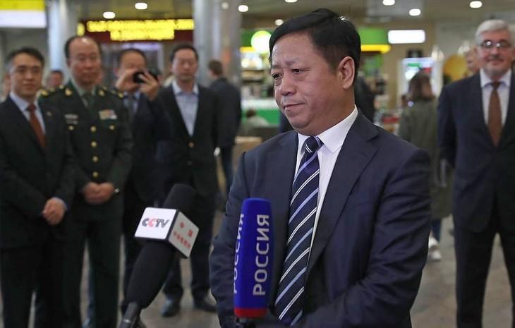 Le nouvel ambassadeur chinois en Russie espère une coopération encore plus fructueuse - ảnh 1