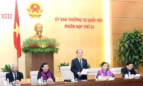 Bế mạc phiên họp thứ 32 Ủy ban Thường vụ Quốc hội - ảnh 1