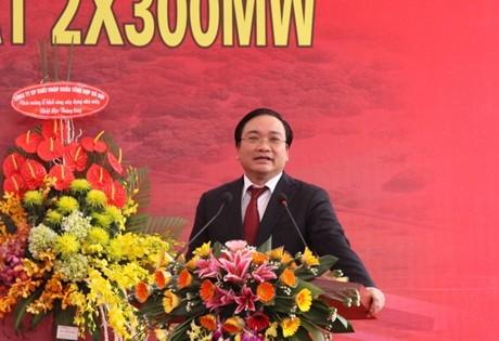 Phó Thủ tướng Hoàng Trung Hải khởi công Nhà máy nhiệt điện Thăng Long - Quảng Ninh  - ảnh 1