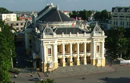 Nhà hát Lớn Hà Nội, công trình nghệ thuật kiến trúc lịch sử  - ảnh 1