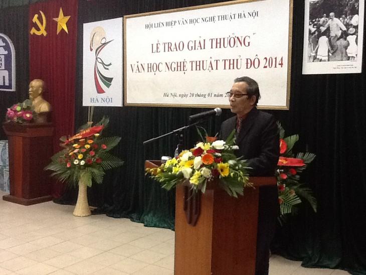 Trao giải thưởng văn học nghệ thuật Thủ đô 2013 - 2014 - ảnh 2