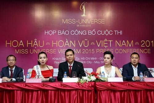Công bố cuộc thi Hoa hậu hoàn vũ Việt Nam 2015  - ảnh 1
