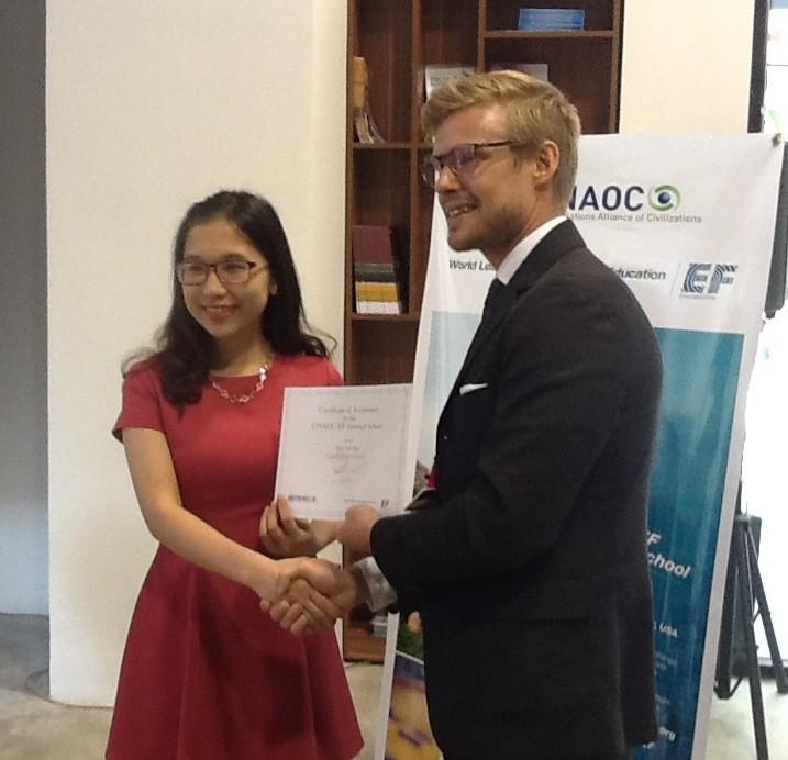Sinh viên Việt Nam lọt vào top 75 nhà lãnh đạo trẻ thế giới - ảnh 1