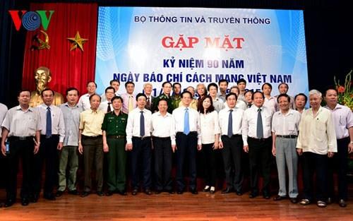 Báo chí Việt Nam ngày càng lớn mạnh và góp sức vào sự phát triển đất nước - ảnh 1