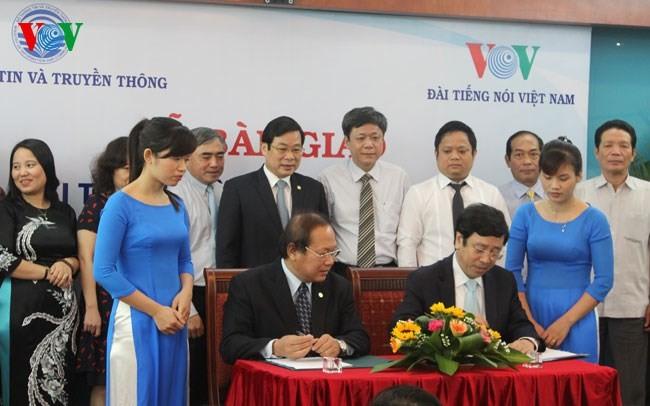 Bàn giao chính thức Đài truyền hình kỹ thuật số VTC về VOV - ảnh 2
