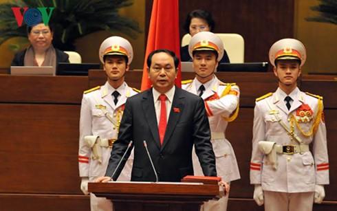 Đại tướng Trần Đại Quang được bầu làm Chủ tịch nước - ảnh 1