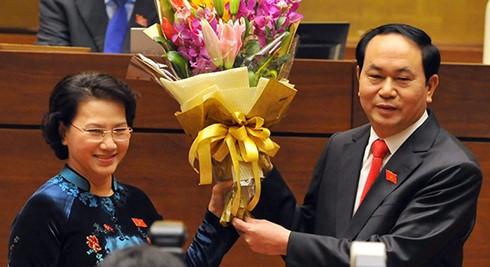 Đại tướng Trần Đại Quang được bầu làm Chủ tịch nước - ảnh 2