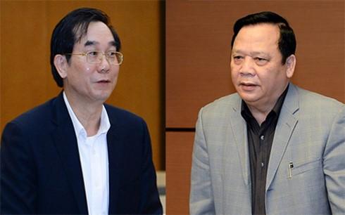 Quốc hội xem xét miễn nhiệm một số chức danh lãnh đạo của Quốc hội - ảnh 1