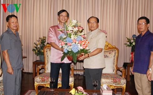 Đại sứ quán Việt Nam tại Thái Lan chúc Tết cổ truyền của Lào - ảnh 1