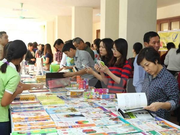 Sôi nổi các hoạt động chào mừng Ngày Sách Việt Nam lần thứ 3 - ảnh 1