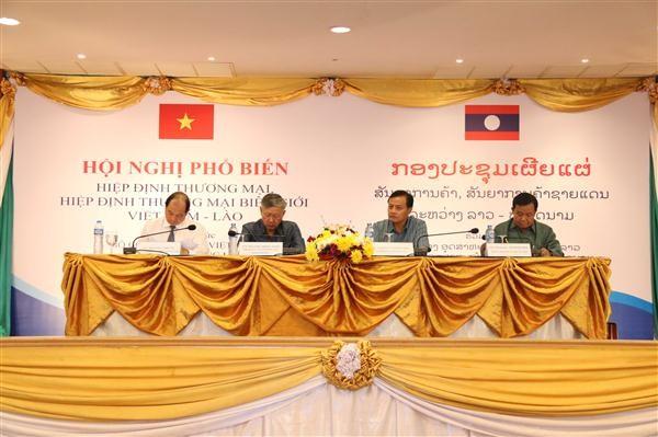 Hiệp định thương mại Việt - Lào tạo điều kiện thuận lợi cho doanh nghiệp hai nước - ảnh 1