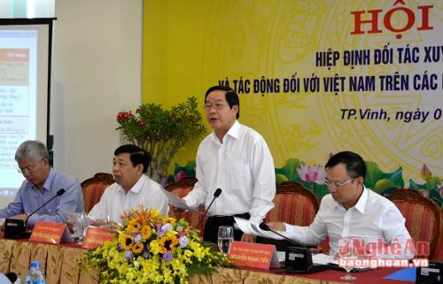 Tác động của TPP đối với lĩnh vực kinh tế, tài chính và sở hữu trí tuệ của Việt Nam  - ảnh 1