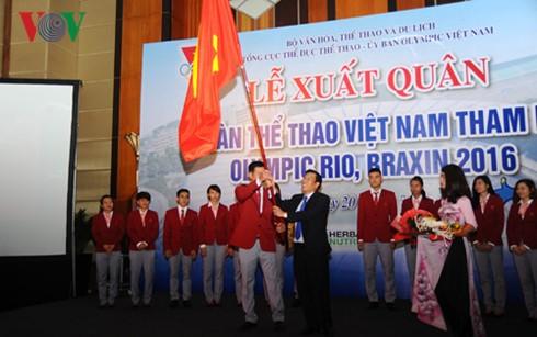 Đoàn Thể thao Việt Nam xuất quân tham dự Olympic Rio 2016 - ảnh 1