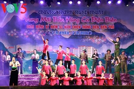 Hoạt động Kỷ niệm 63 năm Chiến thắng Điện Biên Phủ 7/5/1954-7/5/2017 - ảnh 1