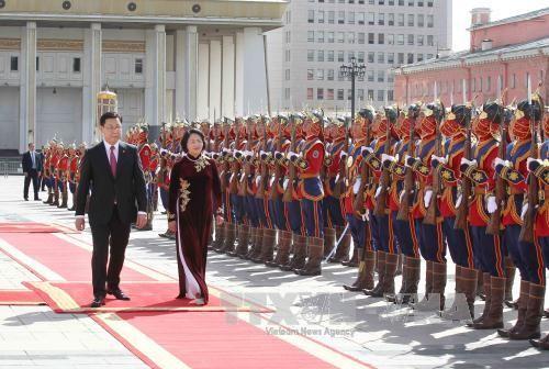 Việt Nam và Mông Cổ tăng cường hợp tác trên mọi lĩnh vực - ảnh 1