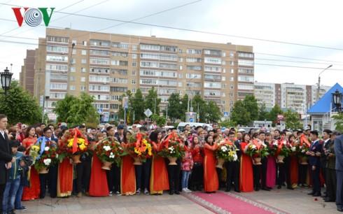 Khánh thành tượng đài Bác Hồ trên quê hương Lenin – Ulyanovsk - ảnh 3