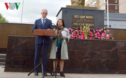 Khánh thành tượng đài Bác Hồ trên quê hương Lenin – Ulyanovsk - ảnh 4