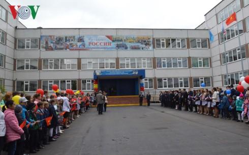 Khánh thành tượng đài Bác Hồ trên quê hương Lenin – Ulyanovsk - ảnh 8