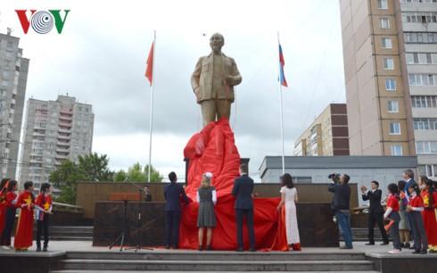 Khánh thành tượng đài Bác Hồ trên quê hương Lenin – Ulyanovsk - ảnh 2