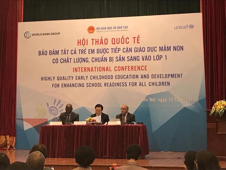 Việt Nam quan tâm phát triển giáo dục mầm non chất lượng - ảnh 1
