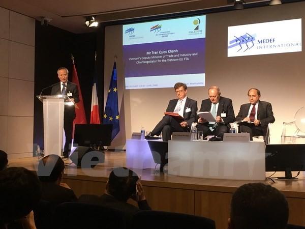 Hiệp định Thương mại tự do Việt Nam-EU có thể được hoàn tất trong năm tới - ảnh 1
