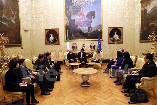 Tăng cường quan hệ hữu nghị, đối ngoại và lập pháp giữa Việt Nam và Italy - ảnh 1