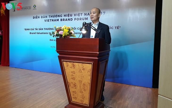 Diễn đàn Thương hiệu Việt Nam 2017   - ảnh 1