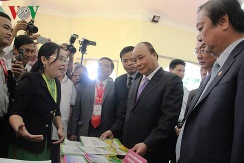 """Thủ tướng Nguyễn Xuân Phúc: """"Liên kết"""" là chìa khóa thành công của Đồng Tháp - ảnh 1"""