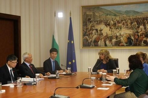 Việt Nam và Bulgaria tăng cường hợp tác, trao đổi kinh nghiệm trên nhiều lĩnh vực  - ảnh 1