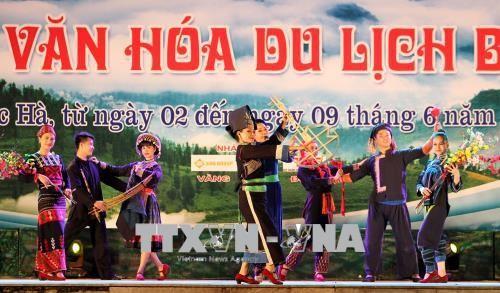 Tưng bừng Tuần lễ văn hóa du lịch Bắc Hà ở Lào Cai  - ảnh 1