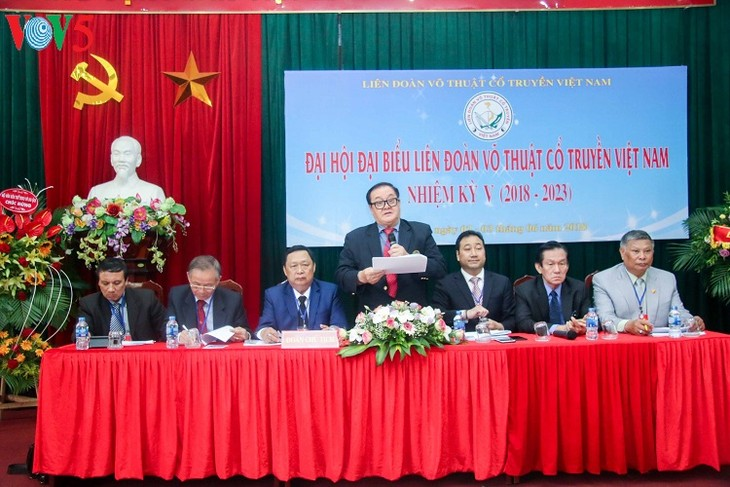 Đại hội Liên đoàn Võ thuật cổ truyền Việt Nam - ảnh 1