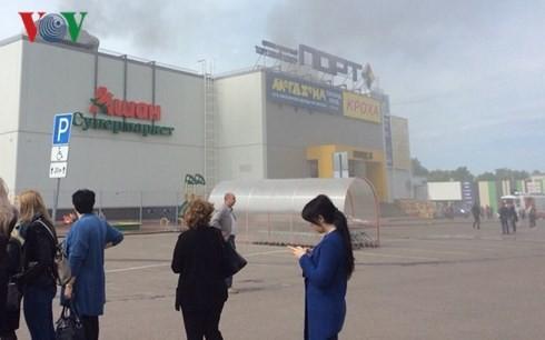 Hỗ trợ các hộ kinh doanh người Việt bị cháy ki-ốt ở Kazan (Nga) - ảnh 1