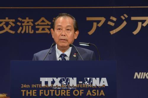 Phó Thủ tướng thường trực Trương Hòa Bình thăm, làm việc tại Nhật Bản - ảnh 1