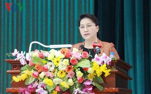 Chủ tịch Quốc hội tiếp xúc cử tri tại Cần Thơ - ảnh 2