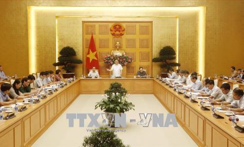 Phó Thủ tướng Vương Đình Huệ chủ trì cuộc họp Ban chỉ đạo phòng, chống rửa tiền  - ảnh 1
