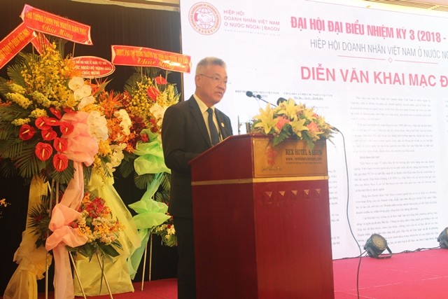 Đại hội lần thứ 3 Hiệp hội doanh nhân Việt Nam ở nước ngoài - ảnh 3