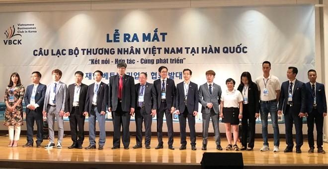 Ra mắt Câu lạc bộ thương nhân Việt trên đất Hàn - ảnh 1